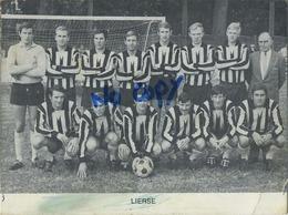 Lier : Voetbalploeg Lierse : Chromo  12 X 9 Cm - Lier
