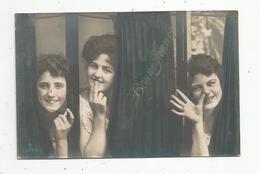 Cp , Femmes , BONNE ANNEE , Espiégles, écrite 1907 - Frauen