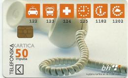 Bosnia Chip Card Phone Telephone - Bosnia