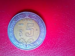 5 Peso 2011 - Mexico