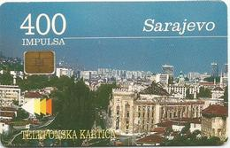 Bosnia Chip Card Sarajevo - Bosnia