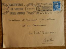 Flamme  De Bayeux De 1955 - Marcophilie (Lettres)