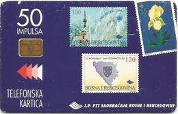 Bosnia Chip Card Stamps - Bosnia