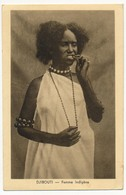 CPA - DJIBOUTI - Femme Indigène - Djibouti