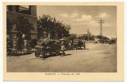CPA - DJIBOUTI - Charrois De Café - Djibouti
