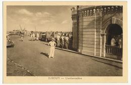 CPA - DJIBOUTI - L'Embarcadère - Djibouti