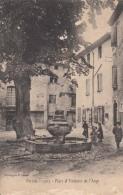 D84 - Pertuis - Place Et Fontaine De L' Ange - Carte Précurseur : Achat Immédiat - Pertuis