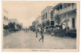 CPA - DJIBOUTI - Rue D'Abyssinie - Djibouti