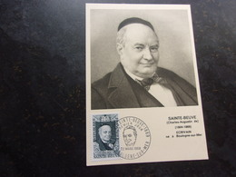 FRANCE (1969) SAINTE BEUVE - Maximum Cards