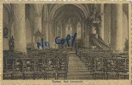 Ternat :  Kerk Binnenzicht   (  Met Zegel ) - Ternat