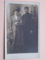 Soldaat ( Onderofficier / Beroeps / Militair Met Dame ) > Moisville > 1917 ( Zie Foto Details ) ! - Guerre, Militaire