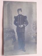 Soldaat In Gala ( Militairen ) 19?? ( Foto : J. Tobie Anvers / Zie Foto Details ) ! - Guerre, Militaire