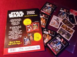 STAR WARS   5 STICKERS   AUTOCOLLANT  NEUF - Merchandising