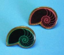 2 PIN'S //   ** 2 AMMONITES ** . (Argine) - Badges
