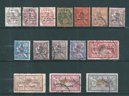 Colonie Francaise  Maroc De 1914/21  N°37 A 52 ( Sauf N°49)  Oblitérés - Maroc (1891-1956)