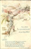 Aux Enfants De Levoncourt Devant Saint Mihiel Noel 1915 - Characters