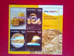 Ayala Museum Mini Sheet  Of 4 - Philippines