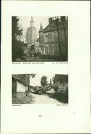 Haplincourt : Schlosshof Und Alte Kirche - Dorfausgang - Windmühle Am Wege Nach Bertincourt. - Stiche & Gravuren