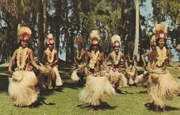 CPSM IMAGE DU FILM DANSES DE TAHITI Avec Le Groupe Etoile HEIVA - French Polynesia
