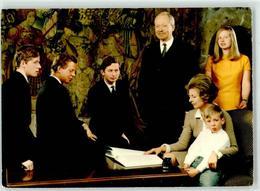 52695197 - PErbprinz Hans Adam, Fuerstin Gina Und Prinz Wenzel U. Prinzessin Nora - Liechtenstein
