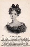 Histoire Portrait Baronne De Charette - Histoire