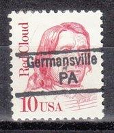 USA Precancel Vorausentwertung Preo, Locals Pennsylvania, Germansville 842,5 - Vereinigte Staaten