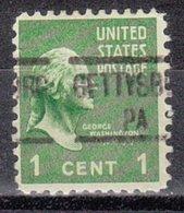 USA Precancel Vorausentwertung Preo, Locals Pennsylvania, Gettysburg 513 - Vereinigte Staaten
