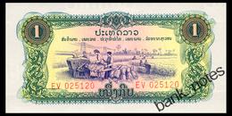LAOS 1 KIP ND(1975) Pick 19Aa Unc - Laos