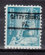 USA Precancel Vorausentwertung Preo, Locals Pennsylvania, Gettysburg 821 - Vereinigte Staaten