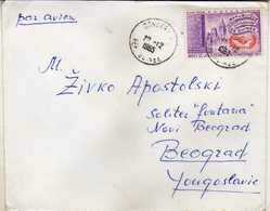 Guinea Letter  Via Yugoslavia - Nice Stamps Motive United Nations - Guinea (1958-...)