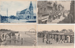 18 / 4 / 364    LOT  DE  10  CPA  DU  TOUQUET -PARIS PLAGE  (62 ) - Toutes Scanées - 5 - 99 Karten