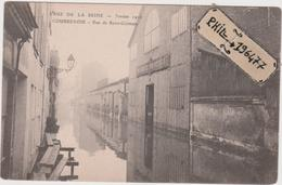 92 Courbevoie - Cpa / Inondations 1910 - Rue De Saint-Germain. - Courbevoie