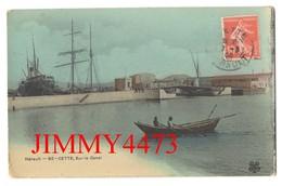CPA - Barque Sur Le Canal En 1908 - CETTE ( Sète ) 34Hérault - N° 60 - Edit. M T I L - Sete (Cette)