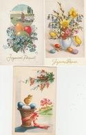 18 / 4 / 365  LOT DE 22 CP : VOEUX  DIVERS ( B. ANNÉE; B. FÊTE, ANNIVERSAIRE E T C  - Toutes Scanées - Postcards