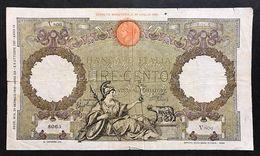 100 Lire Roma Guerriera Fascio Roma 24 12 1942 Mb  LOTTO 983 - 100 Liras