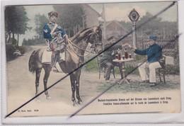 Frontiére Franco-Allemande.sur La Route De Lascemborn (57) à Cirey (54)Douanier à Cheval-Douaniers Qui Trinques - Ohne Zuordnung