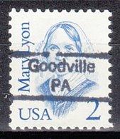 USA Precancel Vorausentwertung Preo, Locals Pennsylvania, Goodville 842 - Vereinigte Staaten