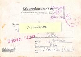 GUERRE 39-45 COR. PRISONNIERS DE GUERRE STALAG III D 67 Berlin, Allemagne TàD 15.10.41 - Marcophilie (Lettres)