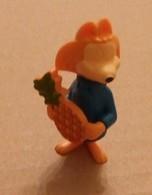 FOX/RENARD WITH PINEAPPLE-FERRERO FIGURE - Figurines