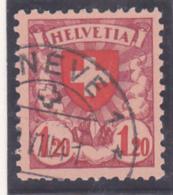 No 164 Y, Papier Couché Lisse, Très Proprement Oblitéré GENEVE - Suisse