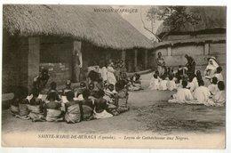CPA   OUGANDA       SAINTE MARIE DE RUBAGA  1910     LECON DE SEMINARISTE AUX NEGRES - Oeganda