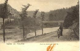 Sy (Ferrieres). Pont De Chemin De Fer. Vallée De L'Ourthe. - Ferrières