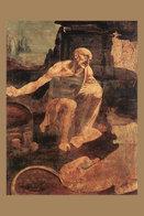 [T30-055 ] Leonardo Da Vinci Italian Painter , China Pre-stamped Card, Postal Stationery - Arte