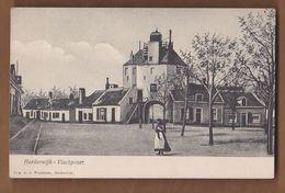 AC -  HARDERWIJK VISCHPOORT A. J. WUESTMAN NETHERLANDS POST CARD - Harderwijk