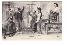 03 Le Bourbonnais La Bourrée Dansez Et Chantez Vive Les Bourbonnais Folklore Costume Joueur De Vielle Musique Musicien - Non Classés