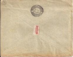 13 - BOUCHES DU RHONE - MARSEILLE ARRIVEE Bches DU RHONE -  FLIER  - 1931  MAR552 - Marcophilie (Lettres)