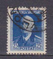 PGL BZ209 - OCC. ITALIANA ALBANIA SASSONE N°22 - Occupation 2ème Guerre Mond. (Italie)