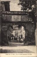 Cp Oulx Ulzio Piemonte, Arco Di Carlo Emanuele III, Straßenpartie - Italy