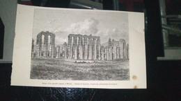 Affiche (gravure) - Ruines D'un Aqueduc Romain à MERIDA - Posters