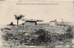 07 Dolmen Dans Les Bois Près De SAINT ALBAN  ST ALBAN - Autres Communes